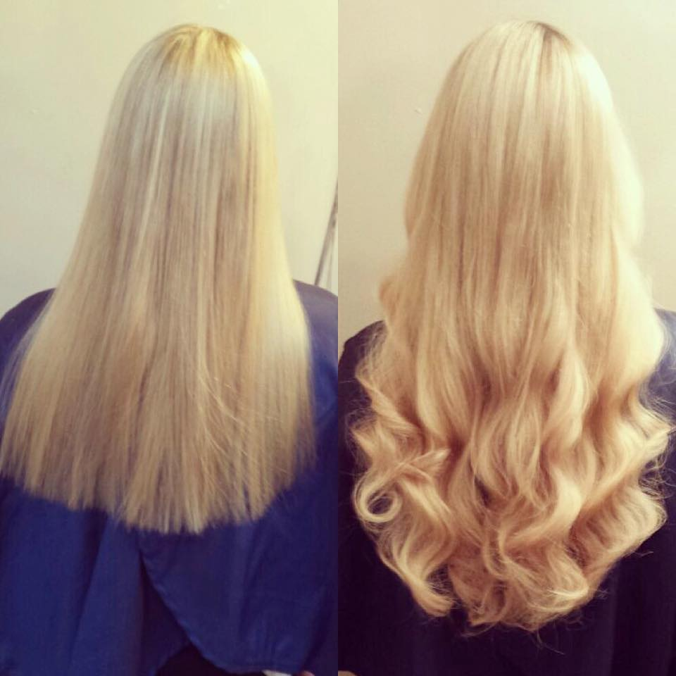 My Great Lengths Update 3 Weeks In Peaches And Cream