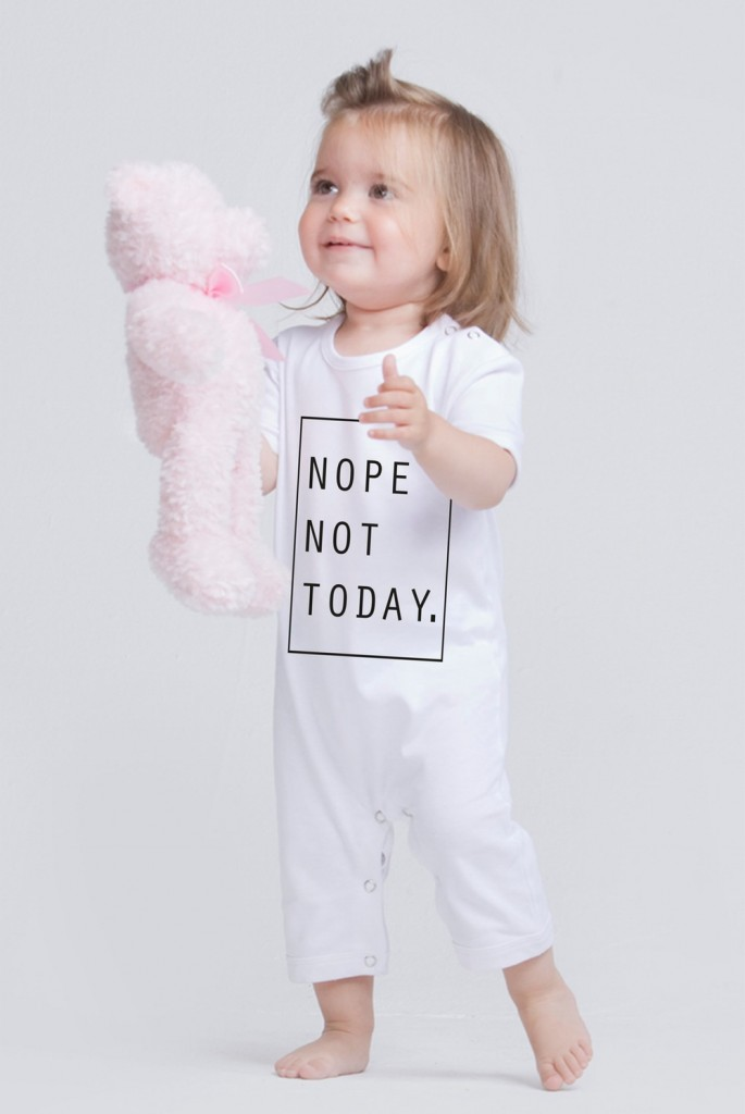 Nope_Not_Today_Romper_White