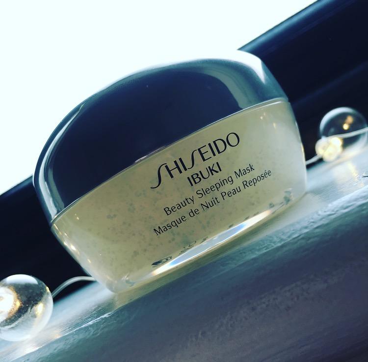 Product of the Day: Shiseido IBUKI Beauty Sleeping Mask