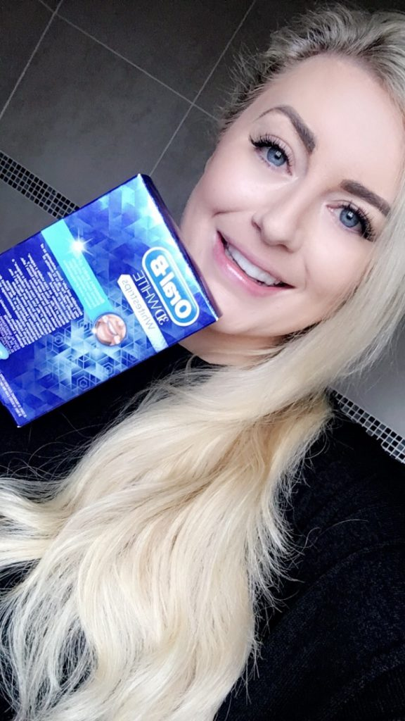Review: Oral B 3D White Teeth Whitening Strips