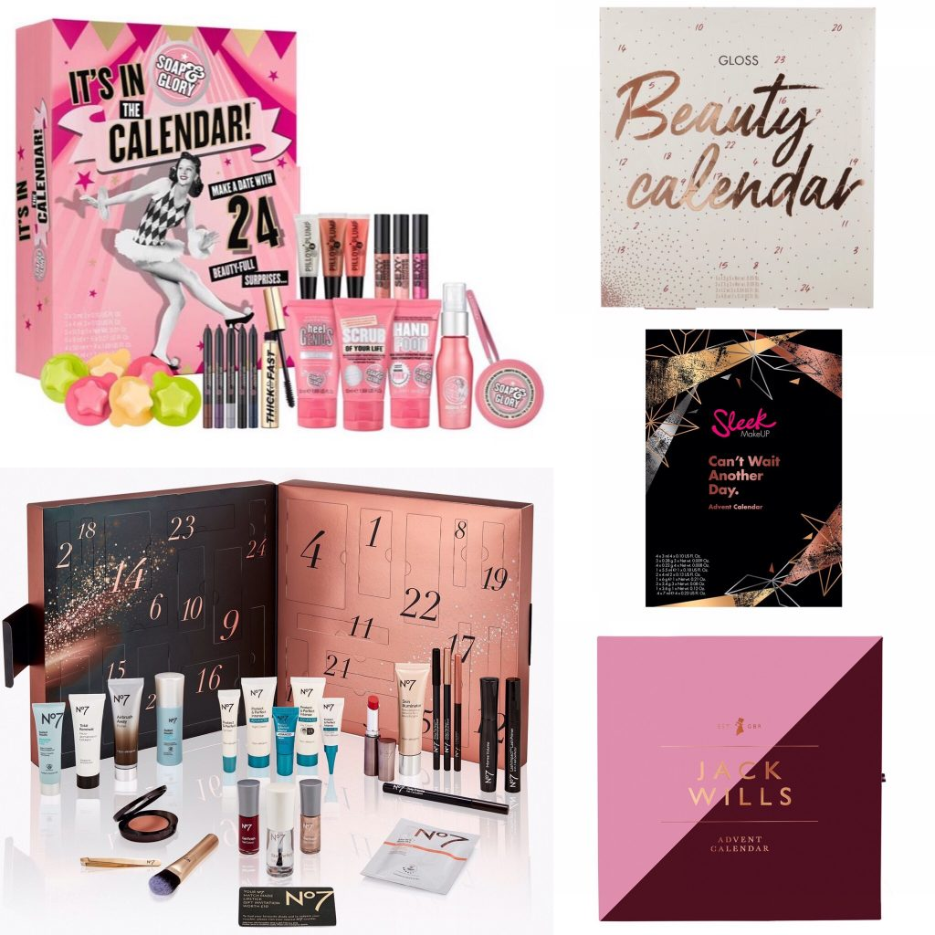 Top 5 Beauty Advent Calendars For Christmas 2018